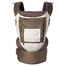 Load image into Gallery viewer, Onya Baby Outback Baby Carrier, Ivory/Chocolate Chip