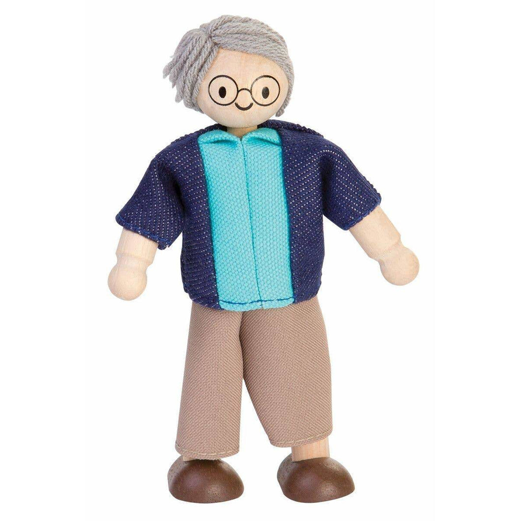 Plan Toys Grandfather Doll for Dollhouse