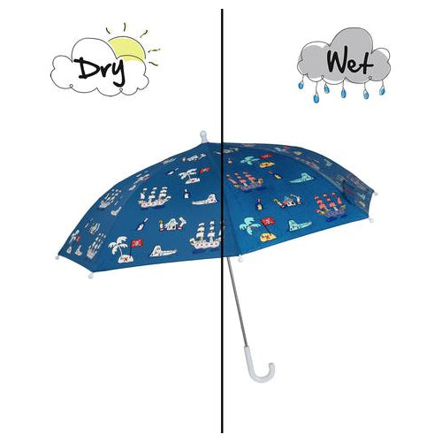 Magic Forest Blue Pirates Umbrella
