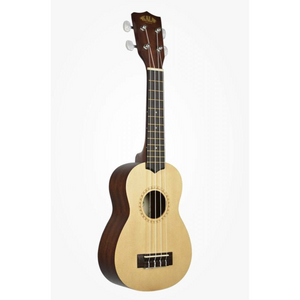 Kala Spruce Top Sprano No Binding