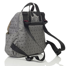 Load image into Gallery viewer, Babymel Gray Origami Heart Robyn Convertible Backpack Diaper Bag, One Size
