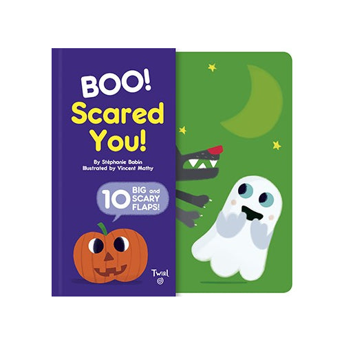 Boo! Scared You! Book