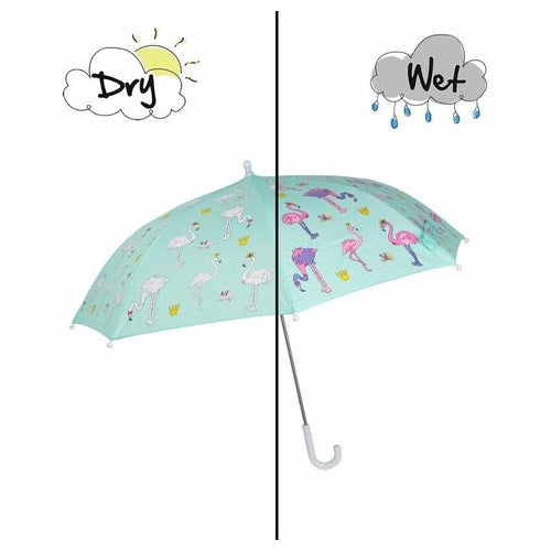 Magic Forest Flamingo Umbrella