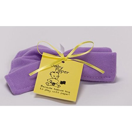 Baby Paper Purple Crinkly Baby Toy