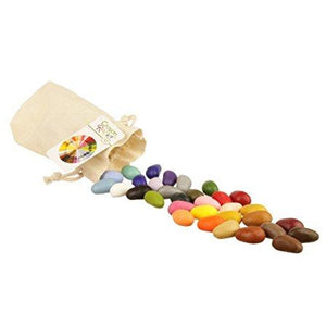 Crayon Rocks 32 Color Muslin Bag - AMAZON SMALL & LIGHT