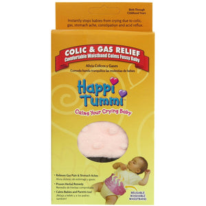 Happi Tummi Colic and Gas Relief Waistband, Pink