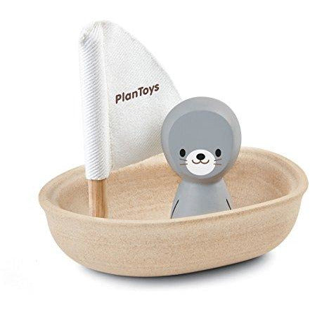 PlanToys Sailing Boat Seal