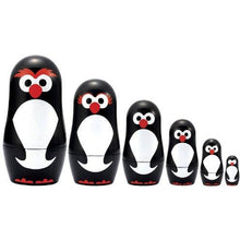 Load image into Gallery viewer, The Original Toy Company Matryoshka Madness Micro-Penguin Matryoshka