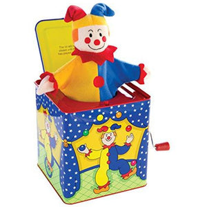 Schylling Jester Jack-In-The-Box Toy