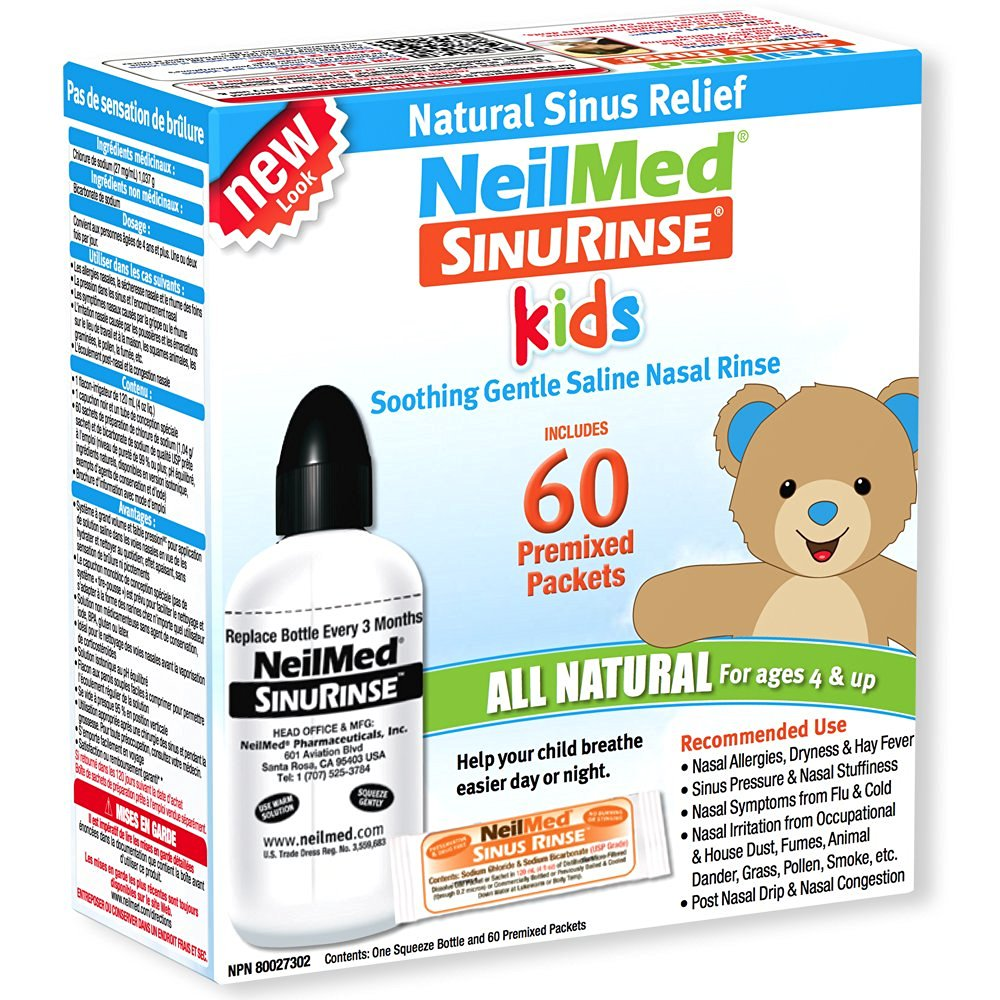 NeilMed Pediatric Sinus Rinse Kit