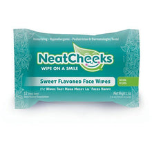 Load image into Gallery viewer, NeatCheeks Sweet Flavored Baby Face Wipes for Sensitive Skin, 4 Pack