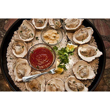 Load image into Gallery viewer, Loftin Oysters Ceramic Reusable Chargrilling Oyster Shell, Set of 12. Great for Seafood of all Kinds. Made in the USA.