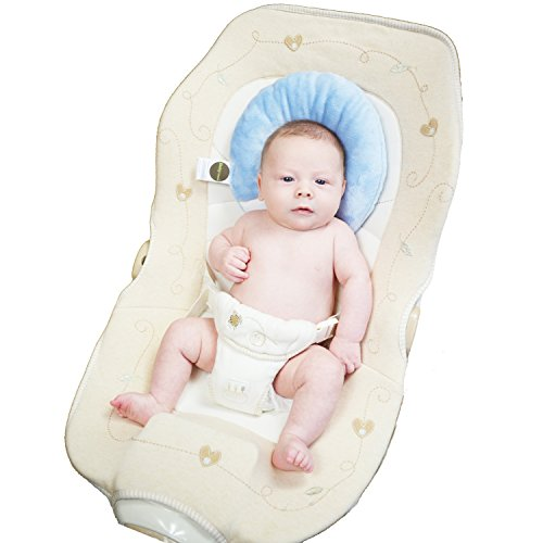 Head and Neck Support Pod, Baby Blue