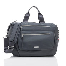 Load image into Gallery viewer, Storksak Graphite Seren Convertible Shoulder Backpack, One Size