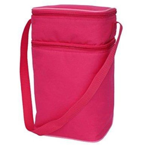 JL Childress Pink/Light Pink 6 Bottle Cooler