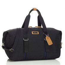 Load image into Gallery viewer, Storksak Black Travel Duffle Bag with Organizer