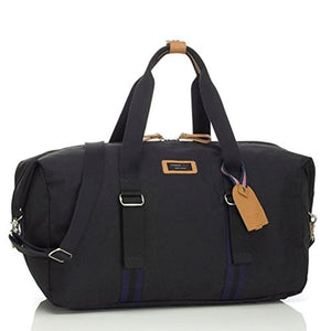Storksak Black Travel Duffle Bag with Organizer