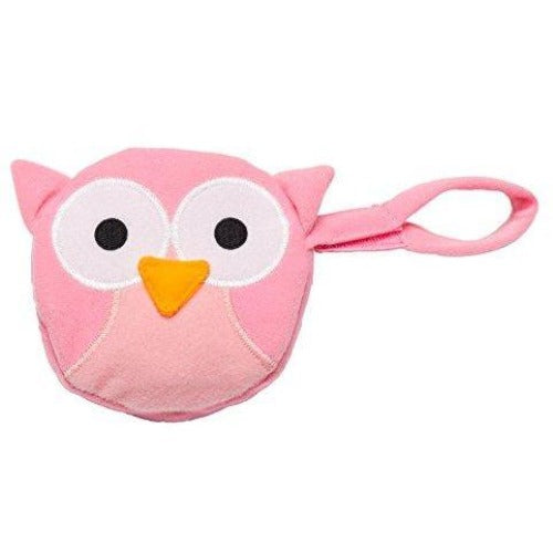 JL Childress Pink Owl Pacifier Pal