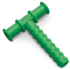 Chewy Tube Knobby Texture Green, 2 Pack