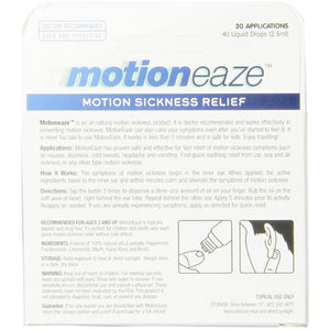 MotionEaze Sickness Relief, All-Natural Topical Liquid, 2.5 ml