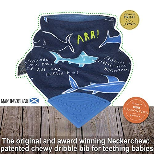 Cheeky Chompers - Neckerchew, Joules Designs, Shark