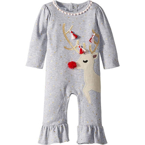 Mudpie Reindeer One Piece