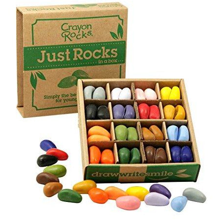 Crayon Rocks Just Rocks Box 16 Color - BOUTIQUE