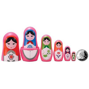 The Original Toy Company Matryoshka Madness Micro-Babushka Matryoshka