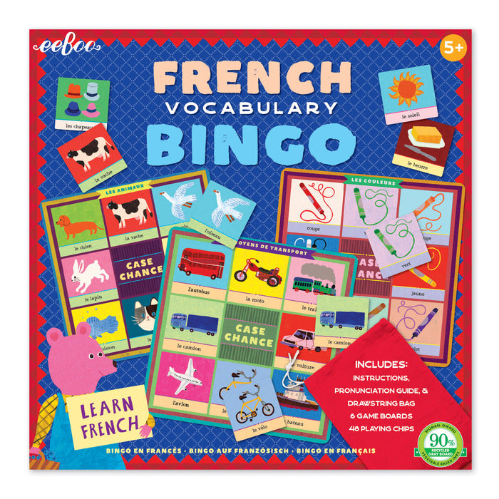 Eeboo French Bingo (2nd Edition)