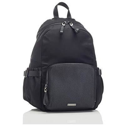 Storksak Black Hero Luxe Backpack Diaper Bag