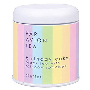 Par Avion. Birthday Cake Tea, 2 oz Tin