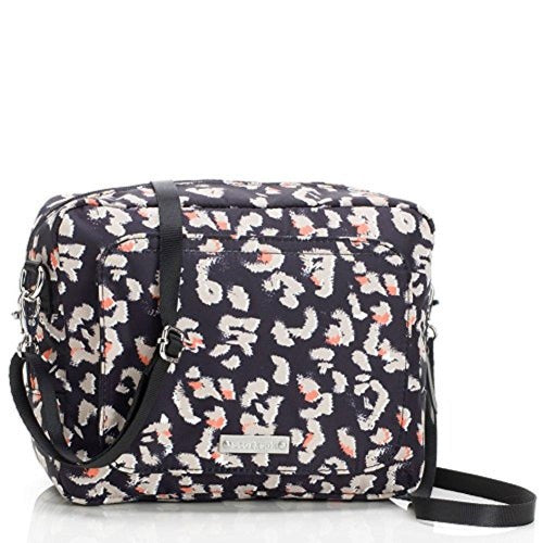 Storksak Leopard Mini Fix On-the-Go Clutch Diaper Bag