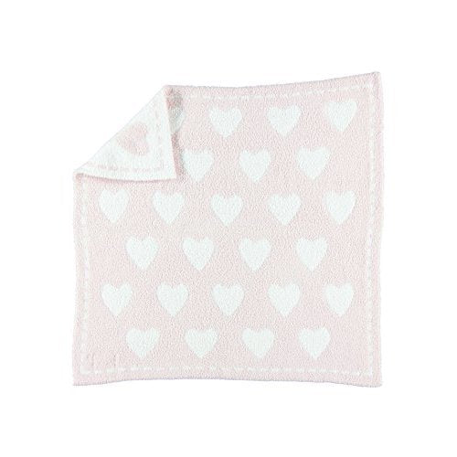 Barefoot Dreams Little Royals in Pink CozyChic Receiving Blanket