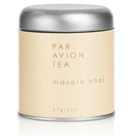 Par Avion Tea Masala Chai, Signature Blend of Spices and Tea Inspired By The Maharaja's of India, Small Batch Loose Leaf Tea in Artisan Tin - 2 oz