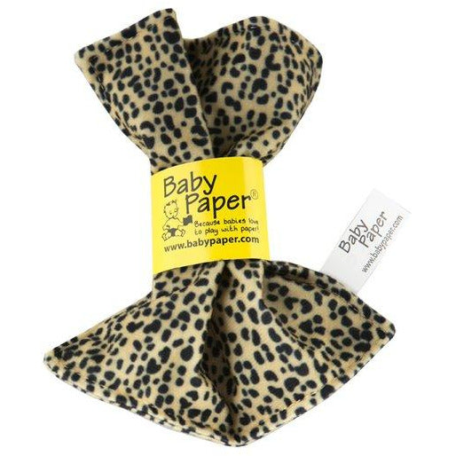 Baby Paper Cheetah Crinkly Baby Toy