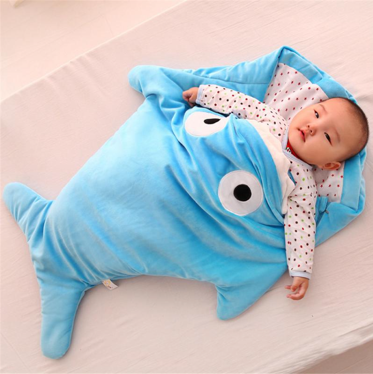 Baby Shark Infant Sleeping Bag