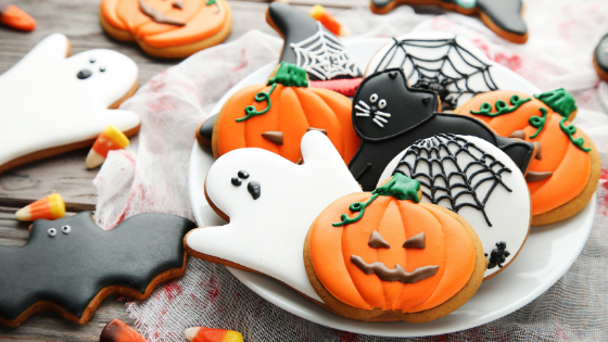 Tahini Sugar Cookies, Perfect for Halloween 🎃