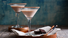 Chocolate Tahini Martini
