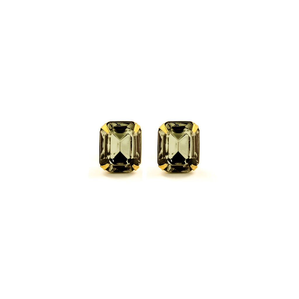 13f7d01c4 E.B. Jewelry Studio - ELLA STUDS - BLACK DIAMOND