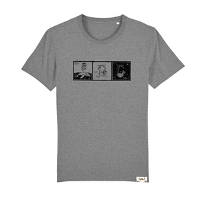 Highland Grey T-shirt - Comic