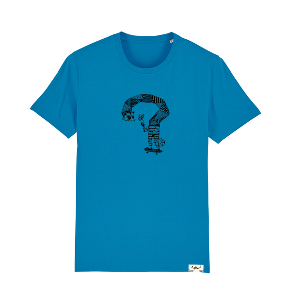 Highland Blue T-shirt - Shroom Racoon