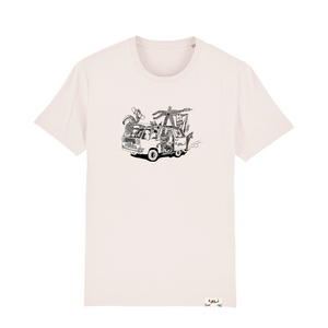 Highland Natural T-shirt - Chillbus