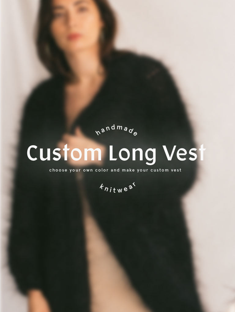 Custom Color Long Vest