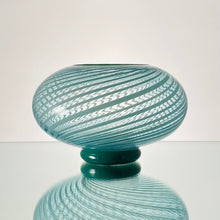 Load image into Gallery viewer, Thríga-Lagoon Cane-Handblown Glass