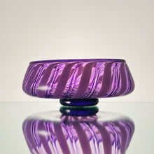 Load image into Gallery viewer, Thríga-Amethyst Cane-Handblown Glass