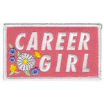 Career Girl Iron-on Patch