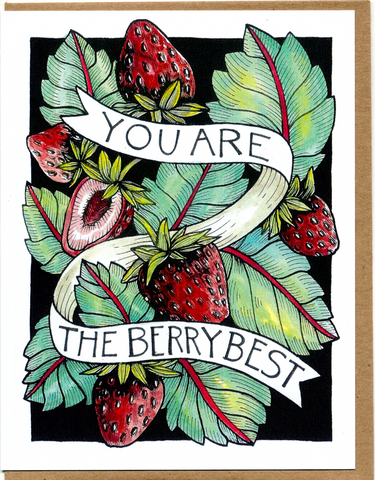You Are The Berry Best Card