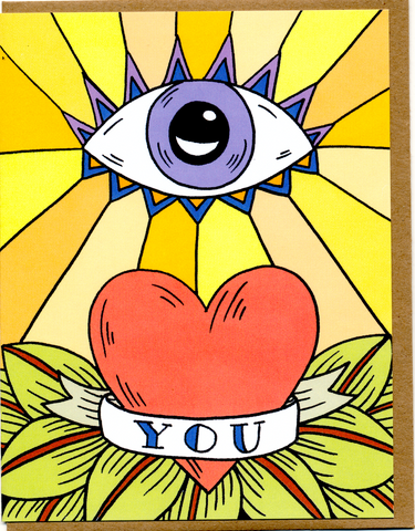Eye Love You Card (Previous Design)