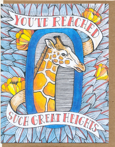 You've Reached Such Great Heights Card