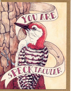 You Are Specktacular Card